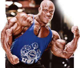 Bodybuilder Phil Biceps Size Height Weight Body Measurements